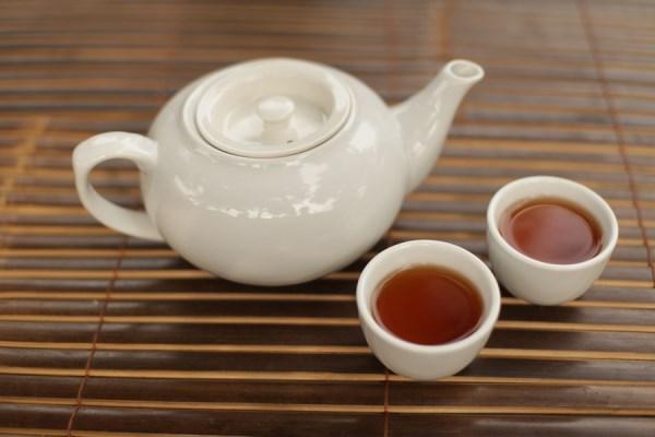 hot tea pot