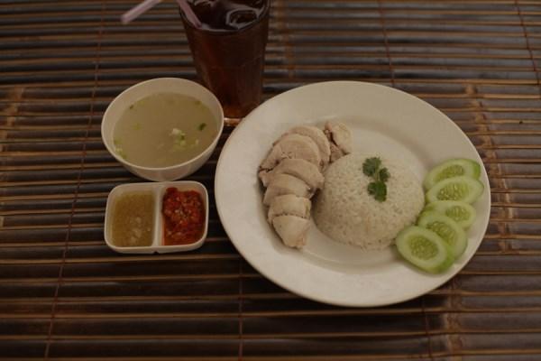 roast chiken nasi hainam