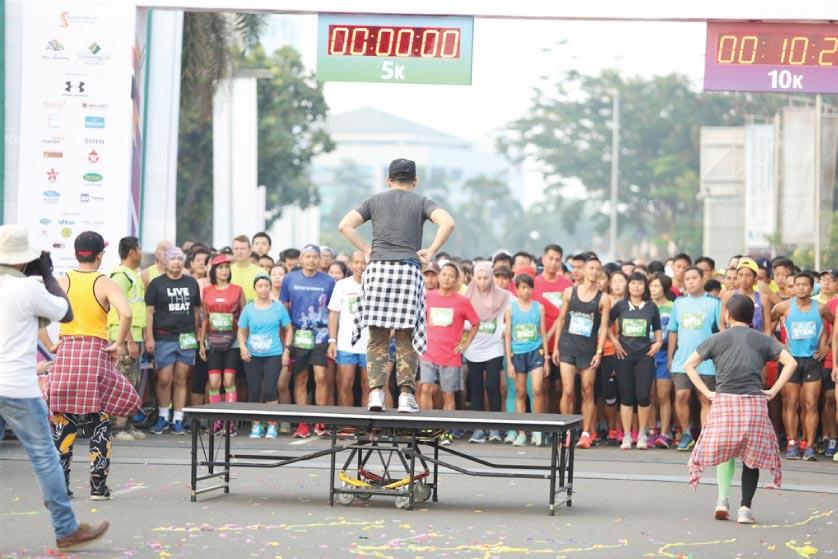 Senyum Bangga Para Green Warrior di Garis Finish Serpong Green Warrior Run 2016