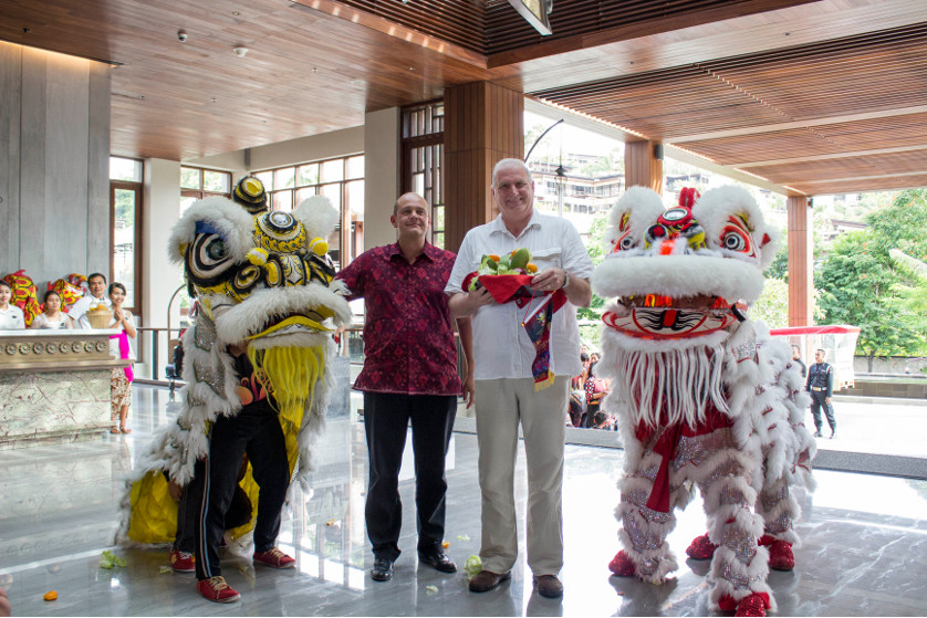 Samasta Celebrate Chinese New Year with Barongsai