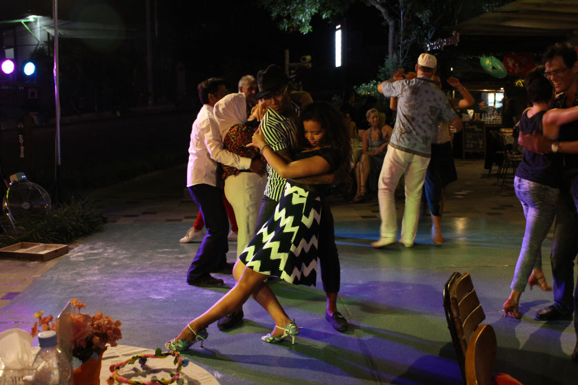 Shaking Samasta with Salsa & Line Dance Competitions