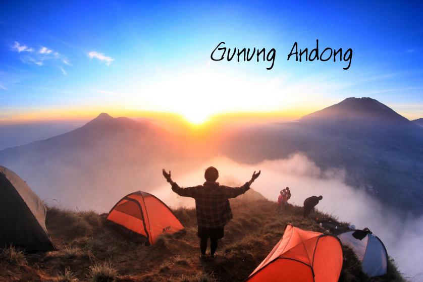 5 Gunung di Indonesia Untuk Pendaki Pemula