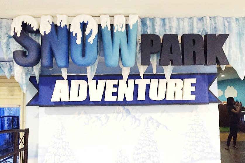 Sensasi Bermain Salju di Snowpark Adventure