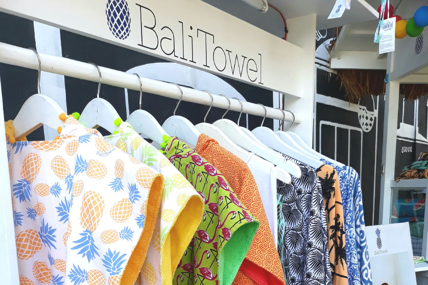 Bali Towel Now Opens at Samasta