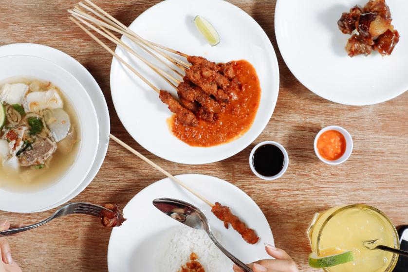 Try The Bli Made Balinese Satay!