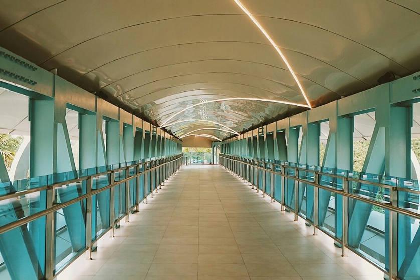 Peresmian Sky Bridge