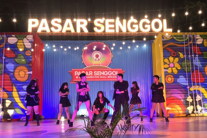 K-Pop Cover Dance Competitions di Pasar Senggol 2019