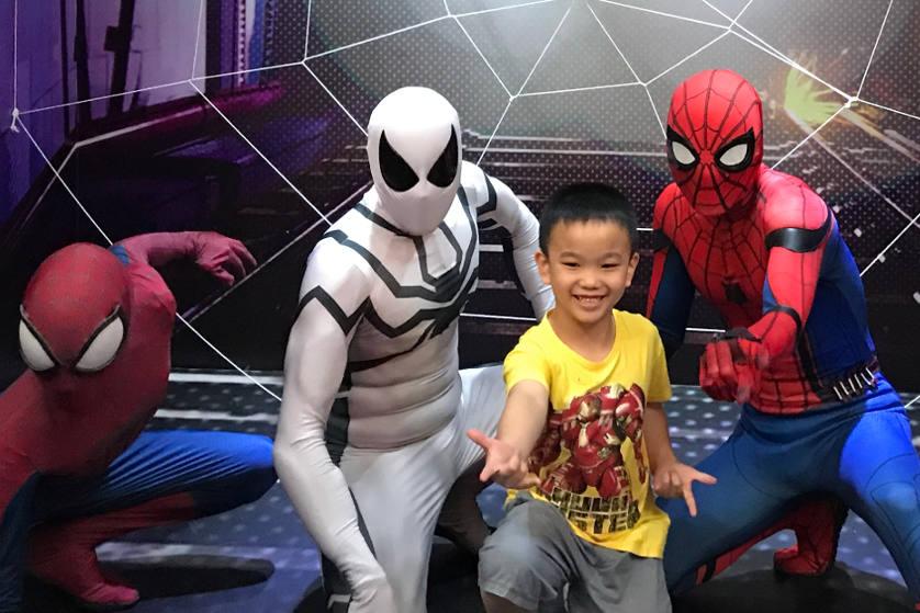 Berpetualang di Dunia Spider-Man