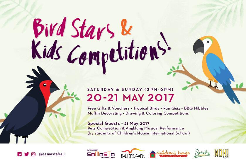 Bird Stars And Kids Competitions Samasta Bali