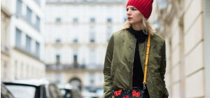Bomber Jacket from Military to Runway