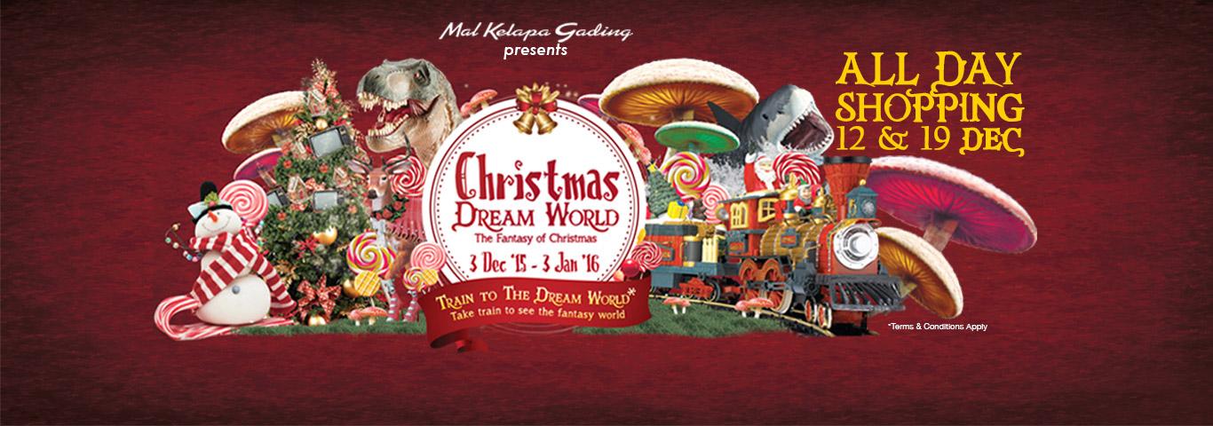 Christmas Dream World Home