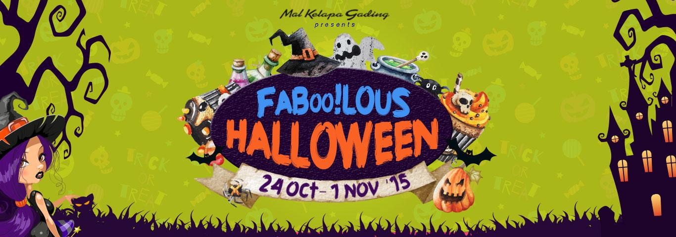 Faboolous Halloween 2015 Banner