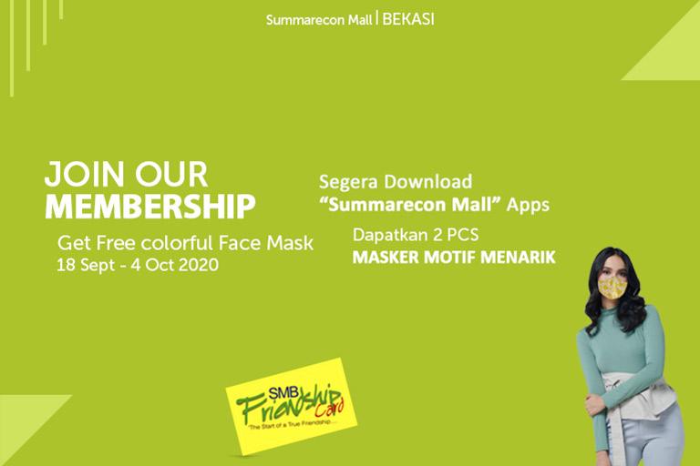 Free Colorful Face Masker