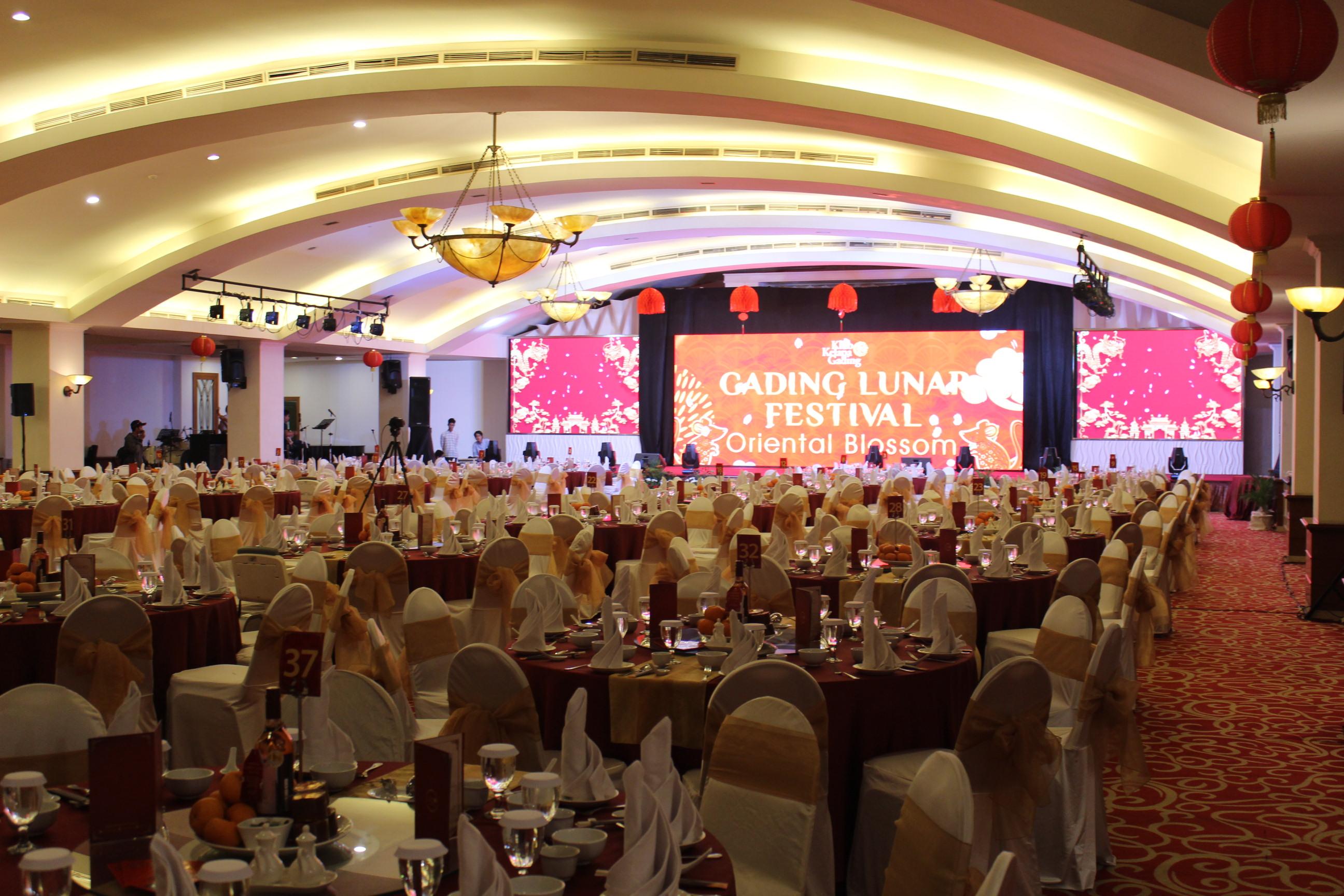 Gading Lunar Festival, Perayaan Imlek perdana Klub Kelapa Gading.