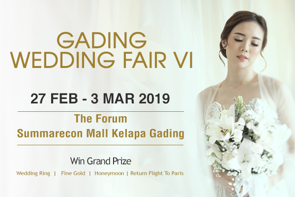 Gading Wedding Fair VI coming soon..