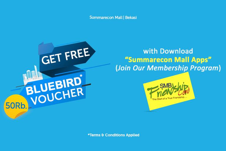 Get Free Voucher Bluebird