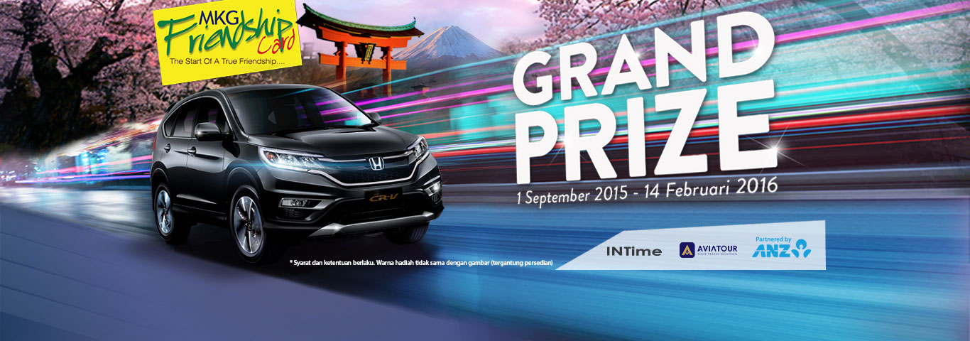 Grand Prize 1 September 2015 - 14 Februari 2016 Home
