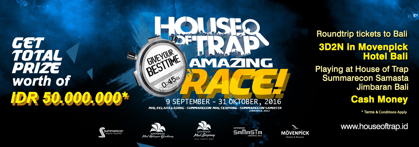 House of Trap Amazing Race!