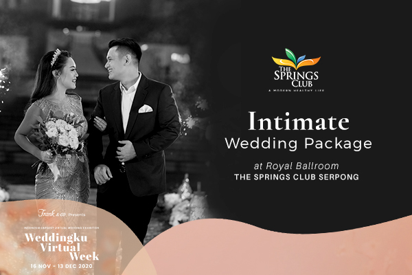 Intimate Wedding Special  Offer