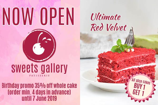 NOW OPEN! Sweets Gallery