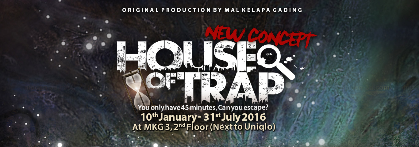 New Concept House Of Trap