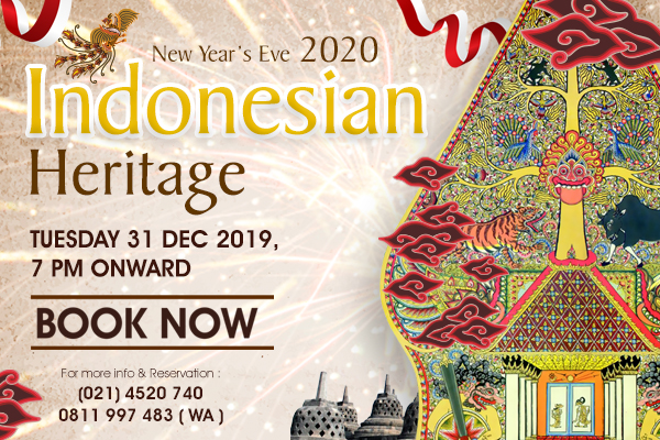 New Year`s Eve 2020 Indonesian Heritage