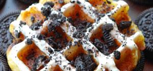 Nikmatnya Belgian Waffle Ala Prince Waffle