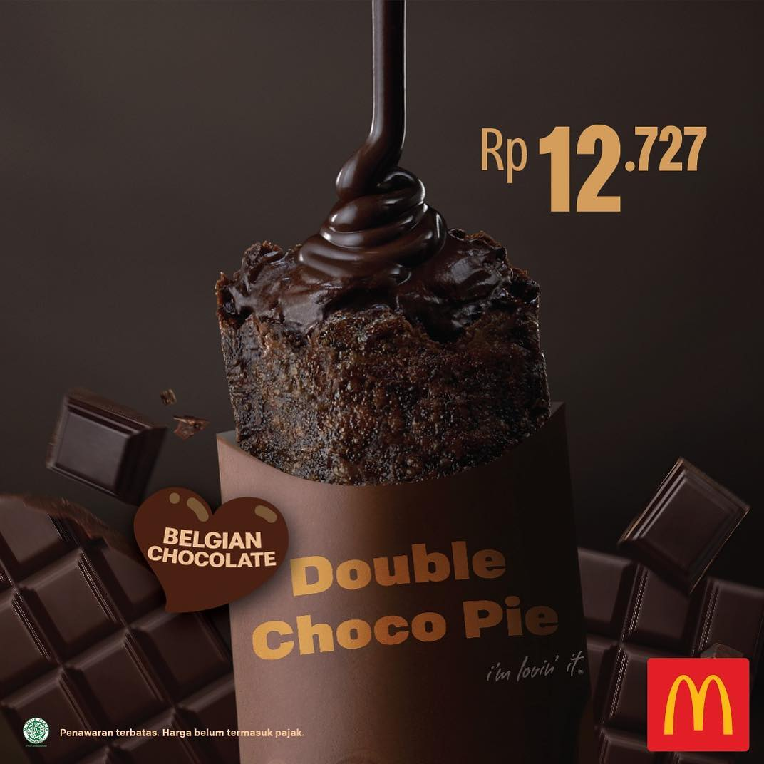 Nikmatnya  Double Choco Pie dari Mcdonald`s