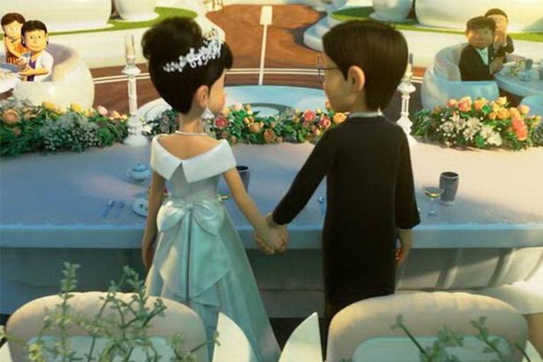 Nobita Menikah Setelah Penantian 50tahun