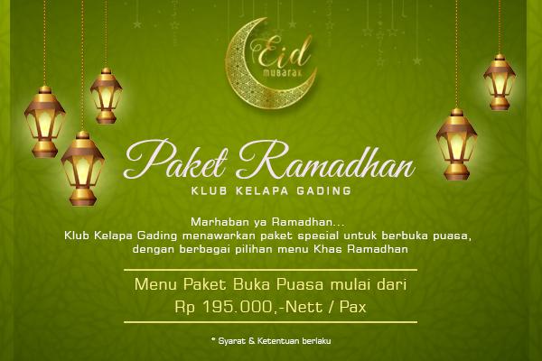 Paket Ramadhan 2018