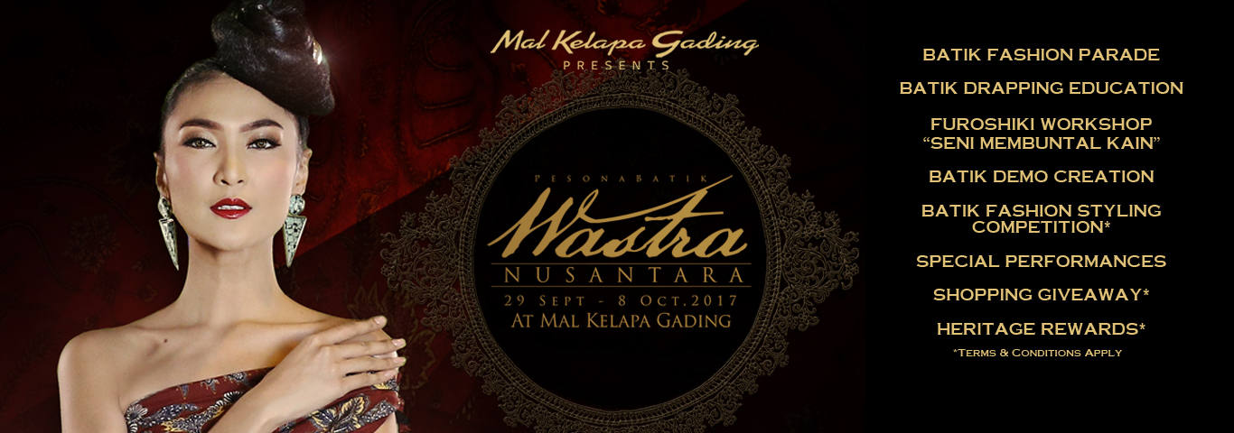 Pesona Batik Wastra Nusantara 2017