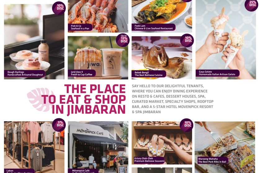 Place to Eat & Shop in Jimbaran