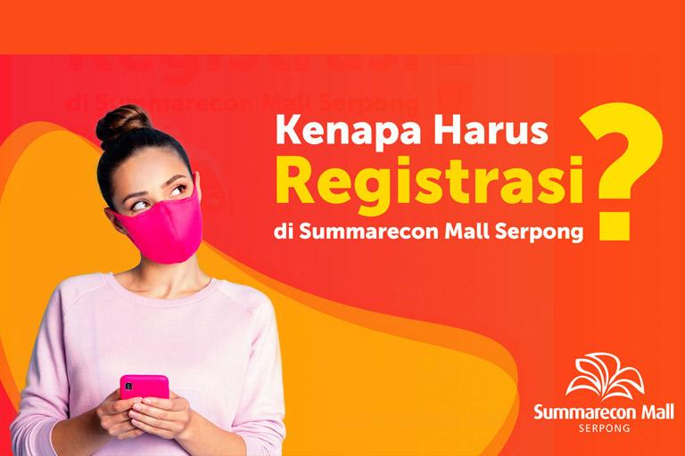 Registrasi di Summarecon Mall Serpong