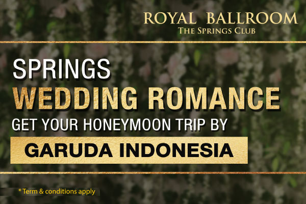 Springs Wedding Romance