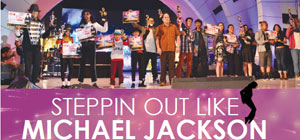 Steppin Out Like Michael Jackson
