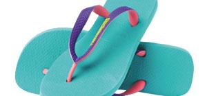 Cantiknya Sandal Warna Warni