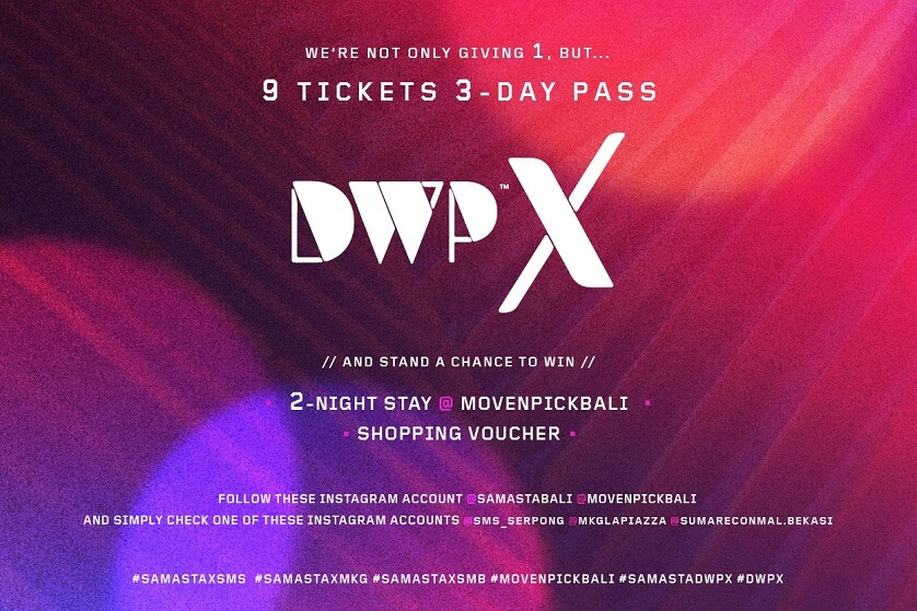 Win DWPX Tickets for FREE!