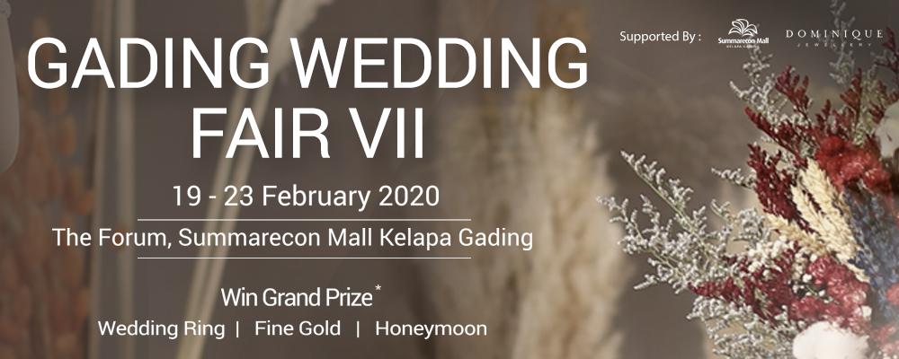 Gading Wedding Fair VII coming soon..