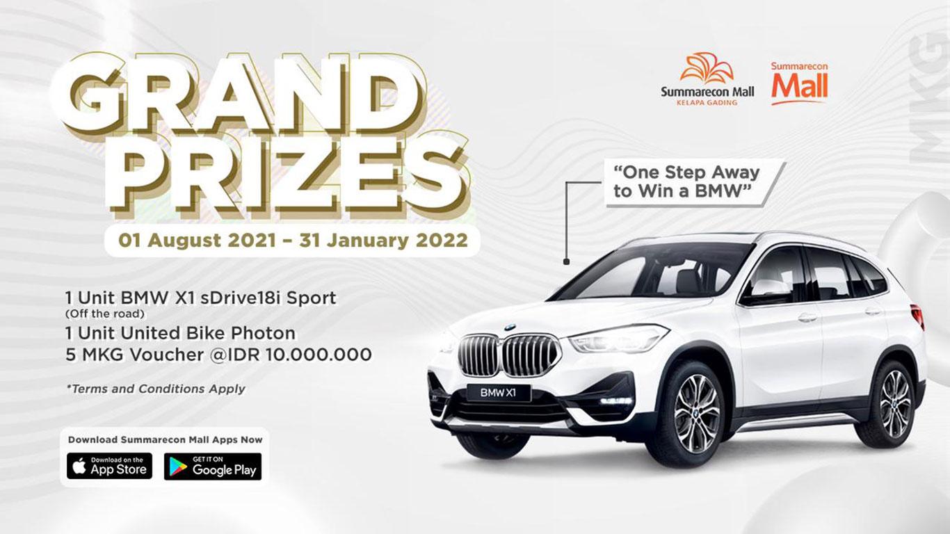 Grand Prize MKG FC periode 01 Agustus 2021 - 31 Januari 2022