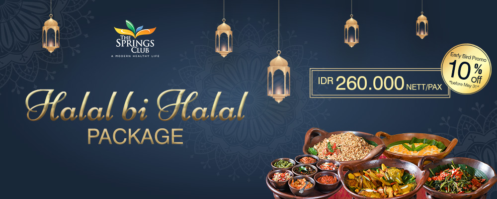 Halal Bi Halal Package Is Available!