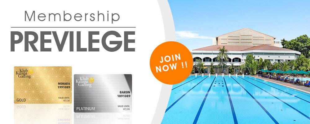 Membership Previlege