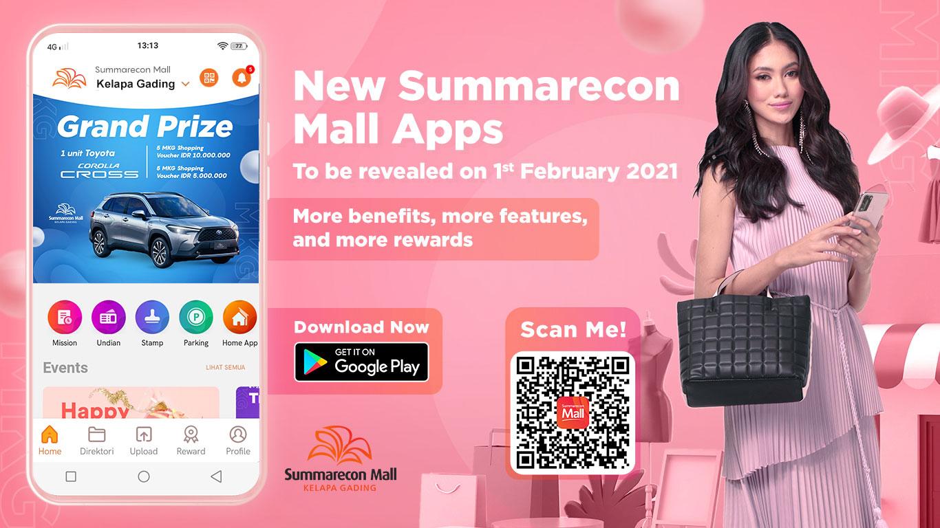 New Summarecon Mall Apps