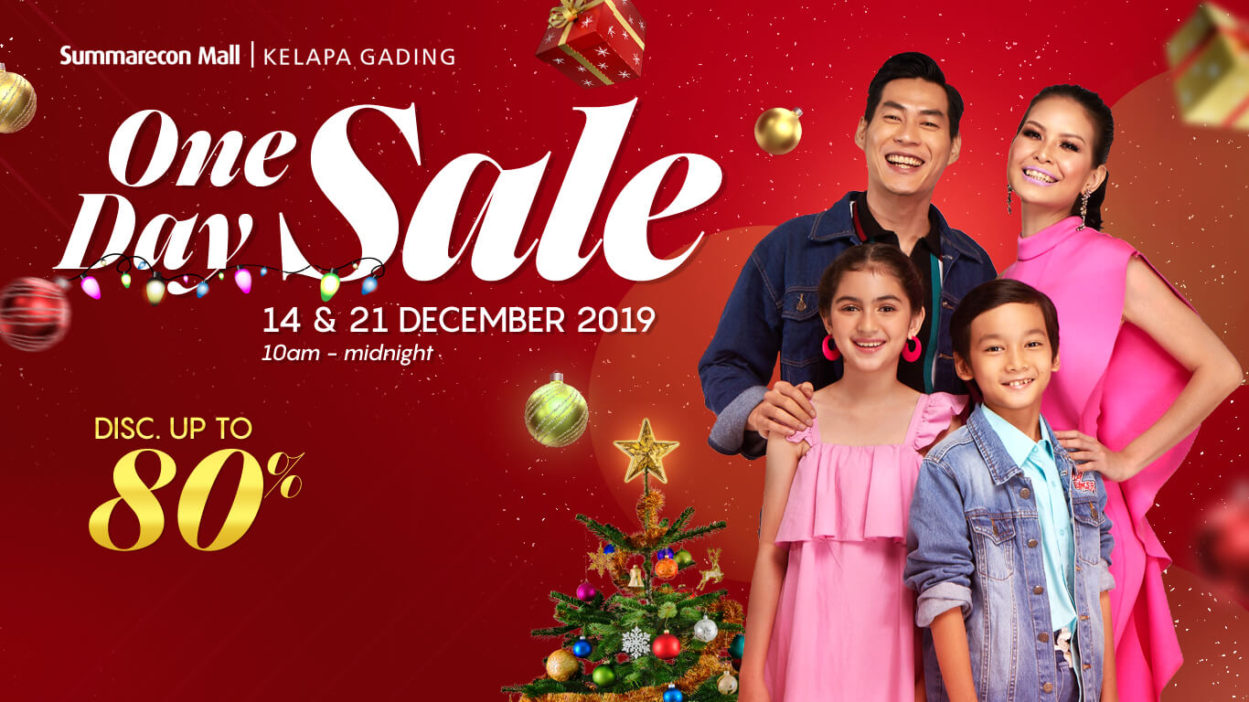 One Day Sale 2019