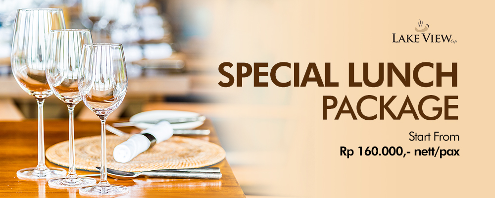 Special Lunch Package at Lake View Cafe