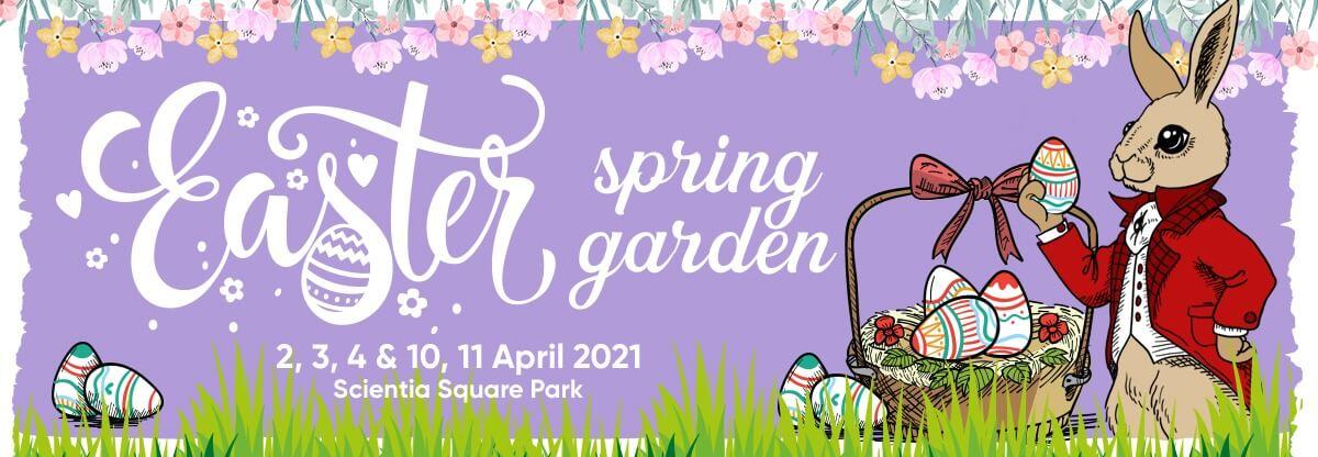 Spring Easter Garden
