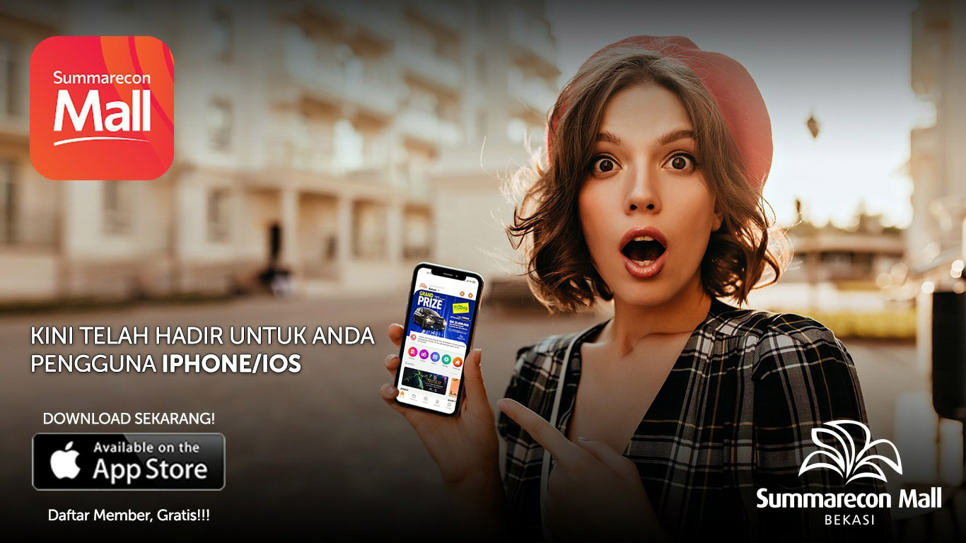 Summarecon Mall Apps Is On IOS
