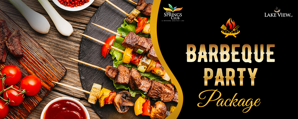 Barbeque Party at Lake View Cafe