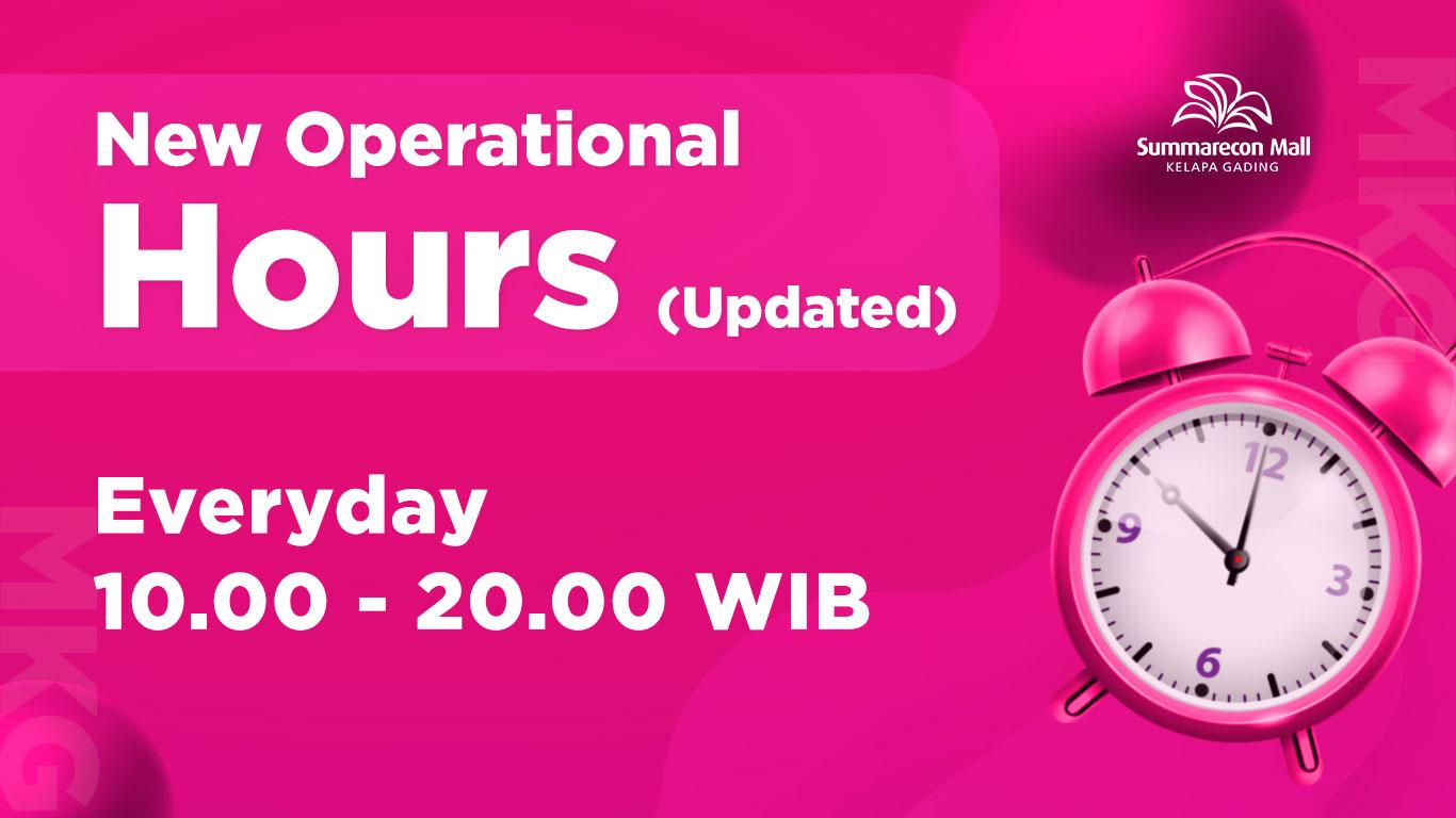 Jam Operasional Mall 25 Jan 21