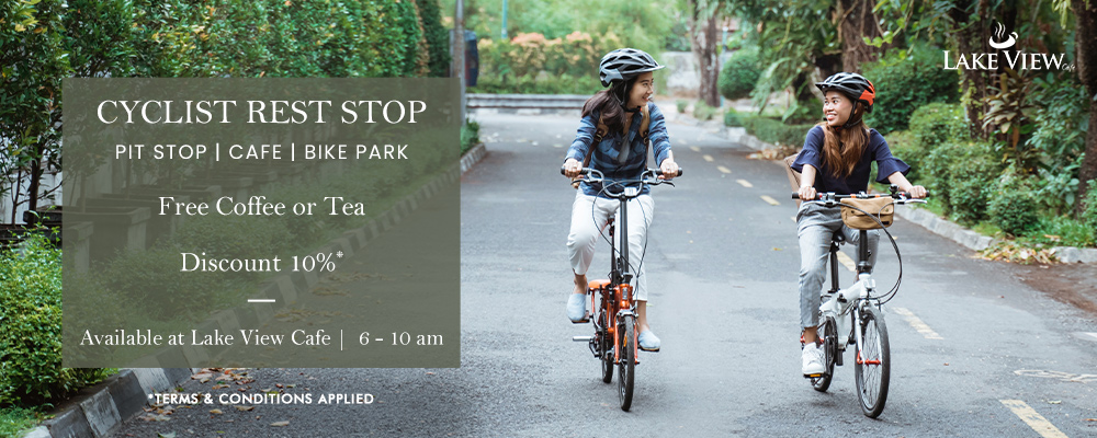Bike-Fast at Lake View Cafe