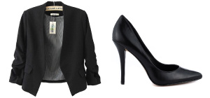Black Classic & Timeless Wardrobe
